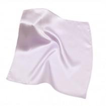 Elegant Pure Silk Handkerchief For Ladies, Light Purple