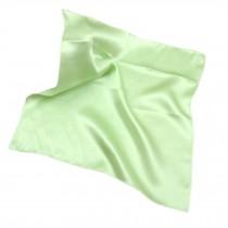 Elegant Pure Silk Handkerchief For Ladies, Green