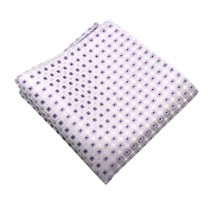 Elegant Gentlemen's Pocket Square Handkerchiefs With Dots Pattern