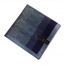 Handkerchiefs  Plaid Assorted 100% Cotton Soft Handkerchiefs Men,Blue