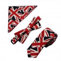 Fashionable Wedding Ties Set Necktie/Bow Tie/Pocket For Men, Light Grey