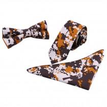 3 PCS Fashionable Casual Formal/Informal Necktie/Bow Tie/Pocket Square C