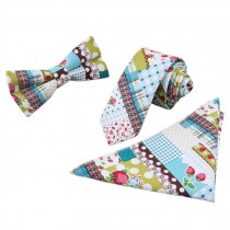 3 PCS Fashionable Casual Formal/Informal Necktie/Bow Tie/Pocket Square H