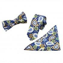 3 PCS Fashionable Casual Formal/Informal Necktie/Bow Tie/Pocket Square L