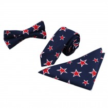 3 PCS Fashionable Casual Formal/Informal Necktie/Bow Tie/Pocket Square N