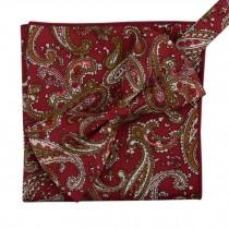Korean Formal/Informal Bow Tie Pocket Square Casual Cotton Handkerchief #01