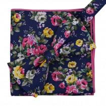 Korean Formal/Informal Bow Tie Pocket Square Casual Cotton Handkerchief #05