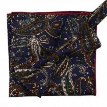 Korean Formal/Informal Bow Tie Pocket Square Casual Cotton Handkerchief #10