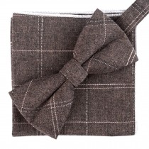 Fashion Casual Bow Tie Pocket Square Business Necktie Pocket Cloth NO.03