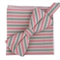 Fashion Casual Bow Tie Pocket Square Business Necktie Pocket Cloth NO.08