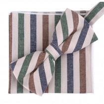Fashion Casual Bow Tie Pocket Square Business Necktie Pocket Cloth NO.10