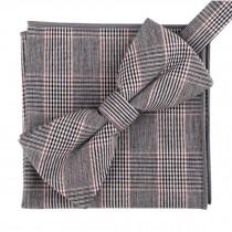 Fashion Casual Bow Tie Pocket Square Business Necktie Pocket Cloth NO.12