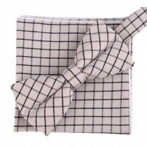 Fashion Casual Bow Tie Pocket Square Business Necktie Pocket Cloth NO.14