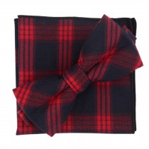 Fashion Casual Bow Tie Pocket Square Business Necktie Pocket Cloth NO.17