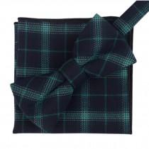Fashion Casual Bow Tie Pocket Square Business Necktie Pocket Cloth NO.21