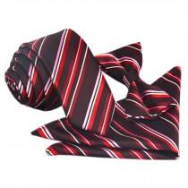 High-end Mens Neckties Bow Tie Pocket Square Formal Wedding Necktie D