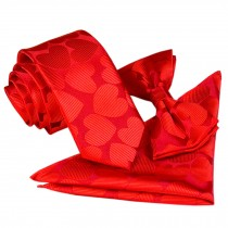 High-end Mens Neckties Bow Tie Pocket Square Formal Wedding Necktie H