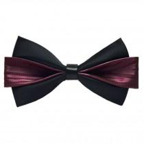 Classic Wedding Party Self Bow Tie Formal Neck Bowtie Necktie NO.09