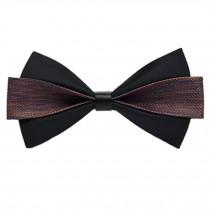 Classic Wedding Party Self Bow Tie Formal Neck Bowtie Necktie NO.11