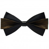 Classic Wedding Party Self Bow Tie Formal Neck Bowtie Necktie NO.13