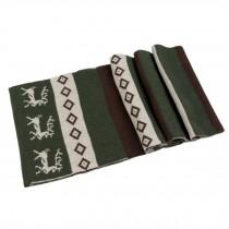Fashionable Men's Warm Wool Scarf Green,white