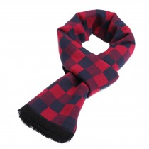 Wool Cashmere Winter Warm Scarf Neck Wrap Scarves Mens Scarves,S