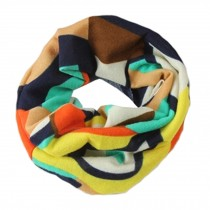 Child's Scarves Knitted Scarves Loop Scarfs Neck Wrap,Colorful