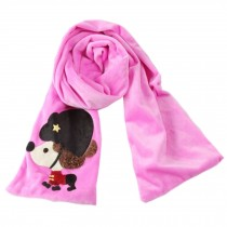 Lovely Cartoon Child's Scarves Fashion Scarves Neck Scarf,Purple