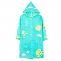 Unisex Kid's Lovely Raincoat Waterproof Raincoat Toddler,Green