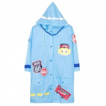 Unisex Kid's Lovely Raincoat Waterproof Raincoat Toddler,Blue