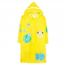 Unisex Kid's Lovely Raincoat Waterproof Raincoat Toddler,Yellow