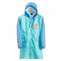 Cute Raincoat Waterproof Raincoat Toddler For Unisex Kids,Blue