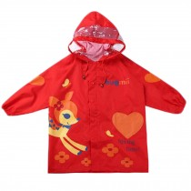 Cute Waterproof Raincoat Unisex Kids Raincoat Toddler, Red