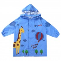 Cute Waterproof Raincoat Unisex Kids Raincoat Toddler, Blue