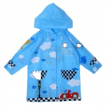 Unisex Kids Waterproof Raincoat Raincoat For Toddler, Blue