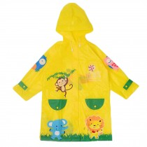 Unisex Kids Waterproof Raincoat Raincoat For Toddler, Yellow