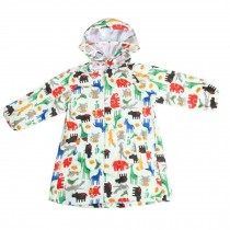 Unisex Kids Waterproof Raincoat Raincoat Toddler With Beautiful Pattern, Yellow