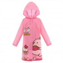 Waterproof Raincoat Toddler Raincoat For Unisex Kids , Pink