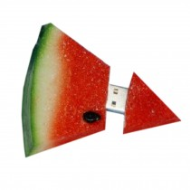 Lovely Cute Watermelon USB 2.0 Flash Drive Memory Stick/Disk 16GB Red