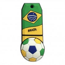 Lovely The World Cup USB 2.0 Flash Drive Memory Stick Memory Disk 32GB Brazil