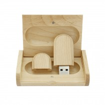 Wooden Design USB 2.0 Flash Drive Memory Stick Memory Disk 8GB With A Box
