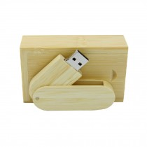 Bamboo Design USB 2.0 Flash Drive Memory Stick Memory Disk with Box 16GB