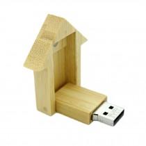 House Shape USB 2.0 Flash Drive Memory Stick Digital Data Traveler 16GB