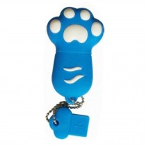 Cat's Paw USB 2.0 Flash Drive Memory Stick USB 2.0 Memory Disk 32GB Blue