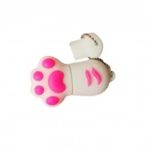 Cat's Paw USB 2.0 Flash Drive Memory Stick USB 2.0 Memory Disk 32GB White