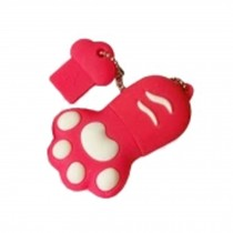 Cat's Paw USB 2.0 Flash Drive Memory Stick USB 2.0 Memory Disk 32GB Red