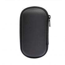 Headset Cable Case Earphone Storage  Bag Convenient black Carrying Case