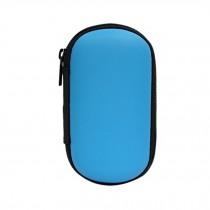 Blue Cable/Earphone Bag Accessories Convenient Carrying Case Storage Case