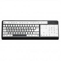 Desktop Computer Keyboard Cover Silicone Skin Keyboard Protector White