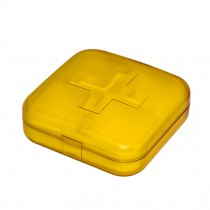 Portable 7 Day Pill Reminder Medicine Storage Pill Case Box